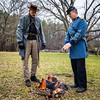 Officers (Sky Noir) Tags: america photography virginia living war south unitedstatesofamerica union north headquarters richmond confederate civil american uniforms states reenactment confederacy reenactors rva battles csa reenacting officers historians skynoir