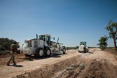 2013_01_24_Afgooye_Road_Grading b (AMISOM Public Information) Tags: somalia reconstruction mogadishu afgooye amisom