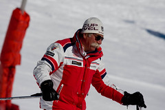 That moustache! (Ben Lockwood) Tags: red snow ski cup canon moustache gloves f56 sponsor esf 70200m 40d