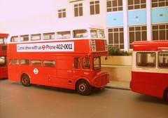 North Street Romford, summer of '76 (kingsway john) Tags: kingswaymodels north street bus garage romford london transport 176 scale londontransportmodel model diorama oo gauge miniature