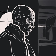 Adobe Ideas Noir (sketchy pictures) Tags: ink square comic noir drawing willow squareformat ipad iphoneography adobeideas instagramapp uploaded:by=instagram adobetouch