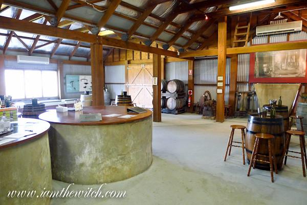 Audrey Wilkinson wine cellar