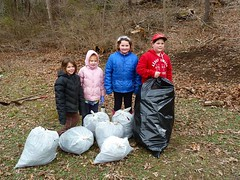 "Brownie Troop# 5248 cleared all these invasive plants! • <a style=""font-size:0.8em;"" href=""http://www.flickr.com/photos/92887964@N02/8569844147/"" target=""_blank"">View on Flickr</a>"