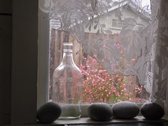 Rainy Morning Light (Room With A View) Tags: window studio rocks lace