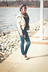 Maeve S. (KyleWillisPhoto) Tags: portrait lake film girl smile fashion canon kyle eos rebel 50mm model rocks photoshoot bokeh modeling fashionphotography nj teen portraiture 7d teenager heels f18 willis mercercountypark 50mmf18 modelphotography photographicjourney kylewillis kylewillisphotography