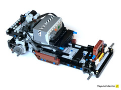 Ratrod_Instructions_56 (mahjqa) Tags: brown rat rust steering lego frog technic toad rod instructions remotecontrol skid ratrod skidding 4ws studless powerfunctions