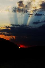 Sunset Huatulco MX (vern Ri) Tags: sunset mexico nikon rays godrays d700 huatalco