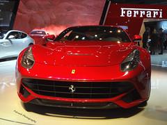 Ferrari F12 Berlinetta 6.2 '13 (Falcon_33) Tags: street paris cars italia wheels engine autoshow ferrari salon gt 13 lamborghini luxury supercar v8 62 v10 f12 v12 exaust prestige berlinetta sportcars dohc parismotorshow mondialdeparis iamthespeedhunter mondialauto2013