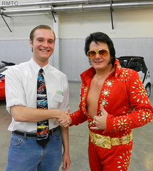 Yes, indeed Elvis was there! (rockymtc) Tags: rmtc islandgrovepark rockymountainthunderbirdclub