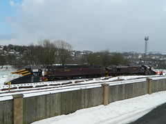 37516 & 47760 1Z99 stabled in Buxton URS 27/03/2013 (37686) Tags: buxton urs stabled 37516 47760 1z99 27032013