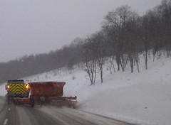 A Tow Plow in Action (StateMaryland) Tags: snow storm plow sha statehighwayadministration marylandstatehighwayadministration