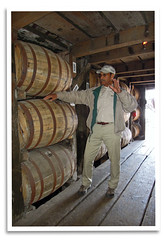 Tour Guide (bogray) Tags: barrels ky whiskey historic warehouse restored guide preserved bourbon distillery frankfort ofc nationalhistoriclandmark nationalregisterofhistoricplaces buffalotracedistillery geotstagg