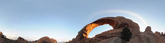 Skyline Arch (Joe_B) Tags: park camping geotagged archesnationalpark 11mm f35 d300 skylinearch photosynth geo:country=unitedstatesofamerica geo:state=ut camera:make=nikon camera:model=d300 exposure:ISO=200 event:type=camping exposure:fnumber=f35 exposure:shutterspeed=1200 image:shot=283 image:rating=2 lens:focallength=11 address:tag=archesnationalpark event:code=20133ar image:roll=10702 roll:num=10702 image:docname=dsc1620stitchjpg