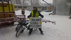 13030288 (szczym) Tags: trip winter bike poland polska zima rower bzzz pszczoły wyprawa miód robaki jedziemynamiodzie wyprawawobroniepszczół rolnikuszanujpszczoły