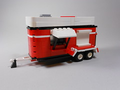 Lego food trailer MOC (WhacoLab) Tags: food dog hot cherry was stand back yummy yum burger n it fries pies easy trailer then cheap foooood moc whacolab wacolab