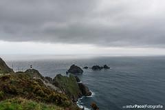 Cabo Ortegal II (asturpaco) Tags: sea españa lighthouse faro coast galicia lands cantabrico acantilados cariño caboortegal 2013 ortegal galiciafaros