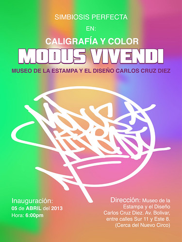Caligrafia y Color Modus Vivendi