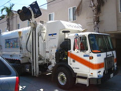 Environmental Services (Scott (tm242)) Tags: trash truck garbage side rear disposal front collection rubbish trucks fl waste refuse recycle loader removal recycling load hopper collect packer rl haul asl msl