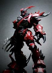 Cyber Spawn (Mcfarlane) (Jova Cheung) Tags: toys actionfigure robot superhero mecha mcfarlane cyberspawn