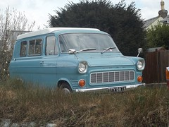 Ford Transit Mark 1 Camper (occama) Tags: old uk blue ford home vintage one 1 1971 cornwall mark transit motor caravan van 1972 camper motorhome 1973 mk calssic