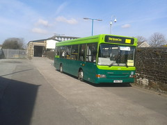 VR Travel Y854 TGH (Woolfie Hills) Tags: travel replacement rail dennis dart vr aberfan tgh lllanelli y854