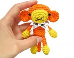 Tiny monkey (SIDRUN'sZoo) Tags: toy mine pattern stuffedanimal amigurumi tutorial crochetpattern
