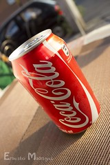 Coke can (ErnestoMad) Tags: drink coke can soda cocacola product canonefs1855mm3556 canont3i