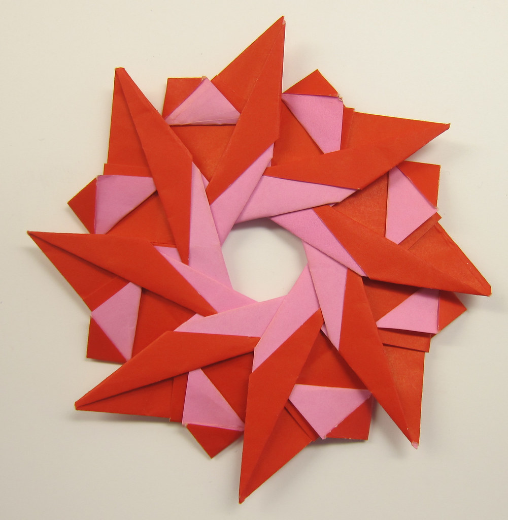 the worlds best photos of origami and wreaths flickr