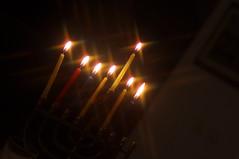 6th Night (Ben Unleashed!) Tags: light israel candles glow 2012 hanukkah chanukkah hanukkiah haradar 6thnight pentaxkr