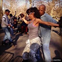 Central Park Dance Skaters (cmputrbluu) Tags: nyc newyorkcity centralpark skaters iphone cpdsa iphoneography