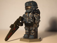 Lego Halo 4 Brick Affliction spartan Warrior (~GIOVANNI~) Tags: light brick with 4 rifle halo prototype armor warrior custom affliction sculpted brickarms