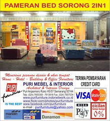 PAMERAN BED SORONG 2IN1 02 (PURI SPRING BED CENTER) Tags: hello bird florence spring bed teddy furniture hellokitty interior central champion spiderman kitty mickey romance bee american elite koala pooh teddybear angry headboard mickeymouse winniethepooh simmons minniemouse serta 3in1 per 2in1 mattress quantum divan alga puri busa tomjerry sealy superland dreamline pegas slumberland kasur bigland springbed dipan dunlopillo angrybirds mebel harmonis shawnthesheep everdream kingkoil enzel airland springair bigpoint comforta protectabed sandaran therapedic guhdo kasurbusa purifurniture kasurper comfortaspringbed ladyamericana perivera periveraspringbed