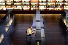 La Biblioteca del Museo Reina Sofía, Madrid. (M Roa) Tags: global award 2014 saariysqualitypictures