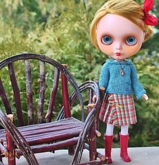 Theda and the Adirondack Chair (bananas!!!) Tags: brian bananas theda blythe carolinelouise mobettablythe nickilad