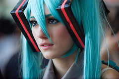 miku hatsune | vocaloid ( massimo ankor) Tags: city blue people italy woman girl beautiful female comics hair torino rouge star starwars costume eyes europe comic italia cosplay manga center international convention ragnarok animation nana wars cosplayer vforvendetta finalfantasy turin comicon kickass cosplayers 2010 role roleplay bonelli fecalface 2013 vpervendetta dylandog torinocomics gakounoshipo