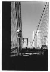 New York Spaces (Andrea Bertolani) Tags: street bridge blackandwhite bw usa white ny newyork black film brooklyn night america buildings landscape coneyisland downtown centralpark manhattan grandcentralstation empirestatebuilding notte paesaggio biancoenero nycity pellicola rockfellerplaza baincoenero