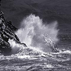 Boom (claudio malatesta) Tags: sea blackandwhite bw mer beach noiretblanc pentax corse corsica boom plage k5 nonza claudiomalatesta claudebenasouli