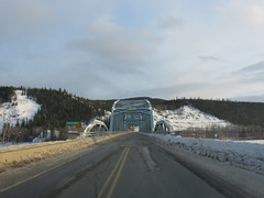 Yukon River Bridge in Carmacks, Yukon, Canada (jimbob_malone) Tags: yukon carmacks 2013 northklondikehighway