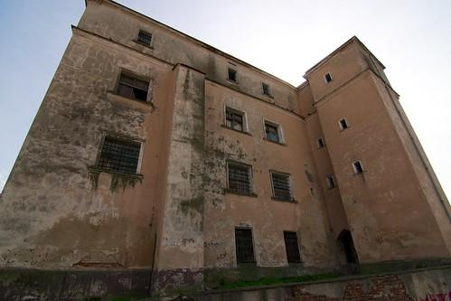 Zamek w Jaworze od północy
