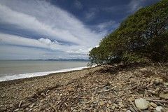 Kina Beach (Roger Fraser) Tags: sea newzealand seascape beach canon nz 7d kina nationalgeographic