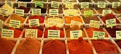 Spices (nathaliedunaigre) Tags: pices spices turquie turkey couleurs colors color colored orange rouge red ton tone chaud warm