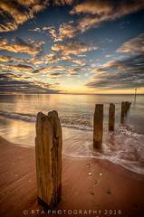 Dawn Pillars (RTA Photography) Tags: hdr 3xp light hdrefex teignmouth beach sunrise dawn rtaphotography