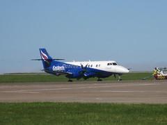 G-MAJW. (aitch tee) Tags: aircraft jetstream eastern airliner turboprop walesuk cardiffairport js41 gmajw maesawyrcaerdydd cwlegff