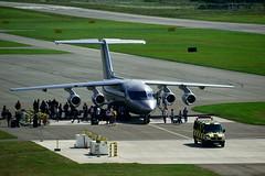 Britisch Aerospace 146-100 (Lutz Blohm) Tags: britisch aerospace 146100 formel1 britischaerospace146100 hockenheim