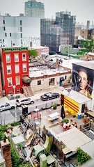 down below (ekelly80) Tags: newyork newyorkcity nyc brooklyn august2016 summer walk williamsburg williamsburgbridge below lookdown patio view bridge