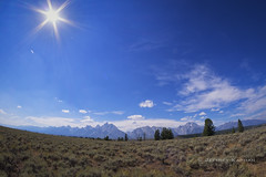 out on the weekend... (J. Kaphan Studios) Tags: fujixt1 landscape landscapephotography grandtetonnationalpark bigsky mountains tetons trees clouds jacksonhole wyoming