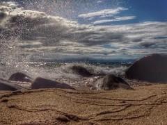 Throwback Thursday - Lake Malawi bling (Betsie Nel) Tags: naturesfinest lake splash water bling wave ipad malawi