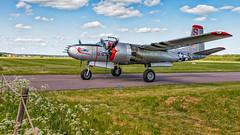 "Douglas A-26 Invader ""Sugarland Express"" (Subdive) Tags: douglasa26invader aircraft ww2 plane warplane vsters sweden flygmuseum aviation museum nordicwarbirds warbird"