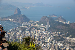 BaieDeRioFromCorcovado (Citizen59) Tags: baie rio de janeiro brazil brasil corcovado teh christ redempteur aout 2016