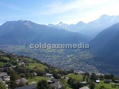 20150927_112147 (coldgazemedia) Tags: photobank stockphoto scenery schweiz switzerland swissvillage swissalps landscape brig birgish mund alps mountain swisshuts alpine alpinehut bluesky blue meadow panorama